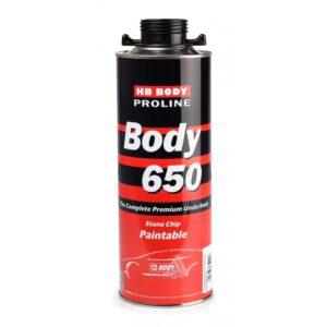Антигравийное покрытие BODY PROLINE 650 черное