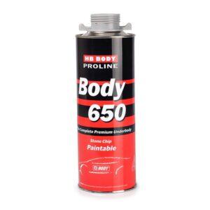 Антигравийное покрытие BODY PROLINE 650 серое