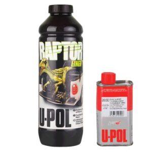 Антигравийное покрытие U-POL RAPTOR колеруемое