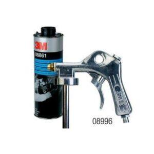 Пневматический пистолет, пульвер 3М 08996 для антигравийных и антикоррозионных структурных покрытий