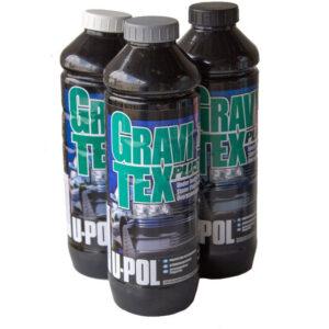 Gravitex U-POL антигравий, гравитекс серый 1л.