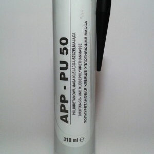 Герметик автомобильный полиуретановый кузовной APP PU-50 310мл черный