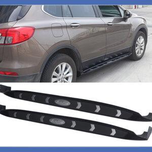 Боковые подножки V1 «Buick Envision» 2014↗ (2 шт) — OEM