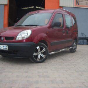 Боковые трубы BB002 (2 шт., нерж.) Renault Kangoo 1998-2008 гг.