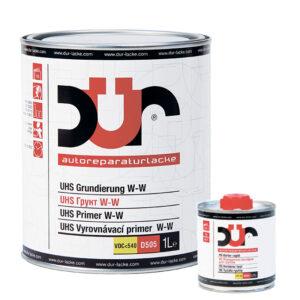 Грунт DUR UHS W-W 4:1 D505 серый 1л + Отвердитель DUR D222 быстрый 0,25л