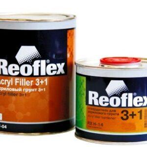 Грунт REOFLEX акриловый 3+1 белый с отверд.(0,5л+0,17л)