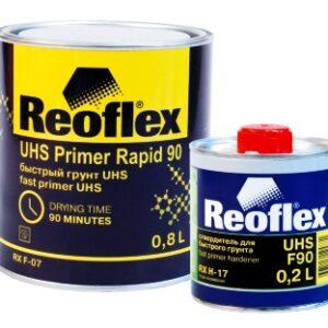Грунт REOFLEX UHS быстрый акриловый 4+1 светло-серый с отверд.(0,8л+0,2л)