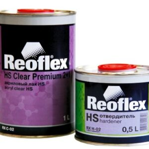 Лак акриловый REOFLEX HS с отверд.(1л+0,5л)