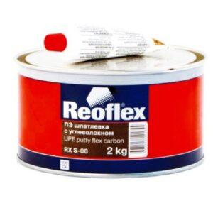 Шпаклёвка REOFLEX FLEX CARBON с углеволокном 2кг