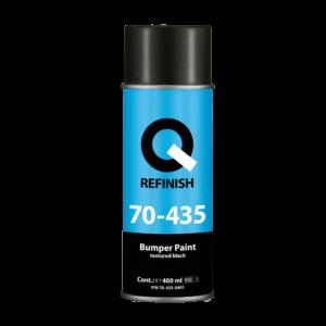 Q REFINISH — структурное покрытие для ремонта бамперов — ЧЕРНОЕ — 400 мл