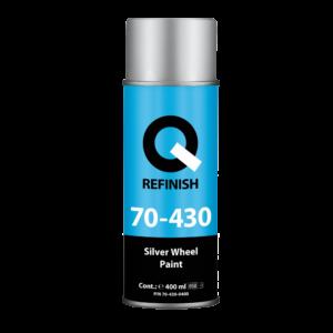 Q REFINISH — серебристая для колесных дисков — 400 мл